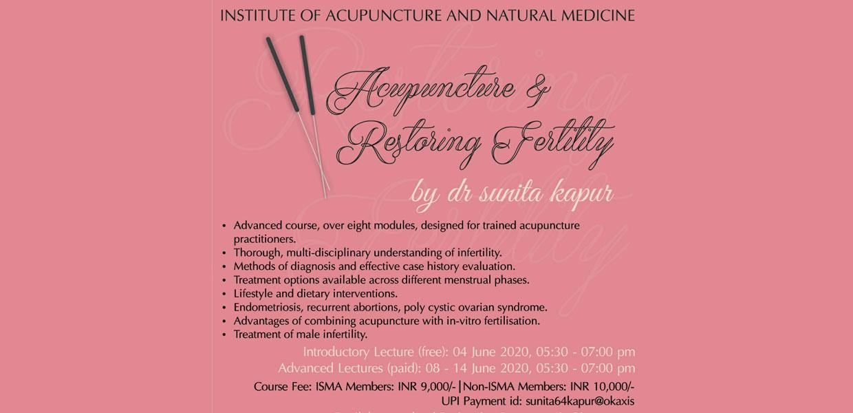Online Acupuncture Webinar